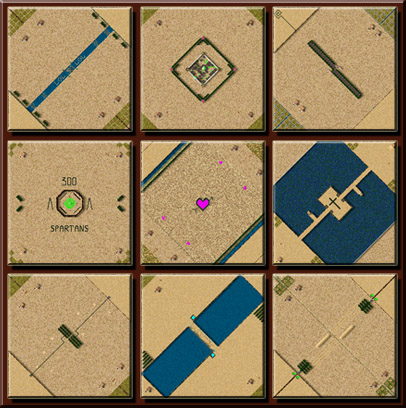 Stronghold Crusader map
